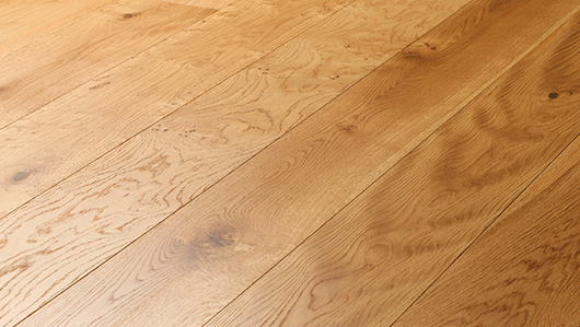 Pre Finished Natural Oiled Oak Flooring